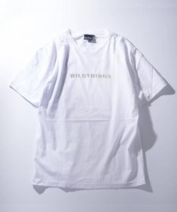 WILD THINGS Embroidery T $479 (White)