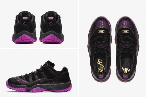"Jordan XI Low ""Rook to Queen"""