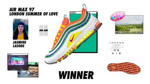 倫敦 Jasmine Lasode,Air Max 97 London Summer of Love