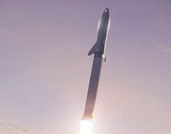 Starship渲染圖(圖自:SpaceX,via CNET)
