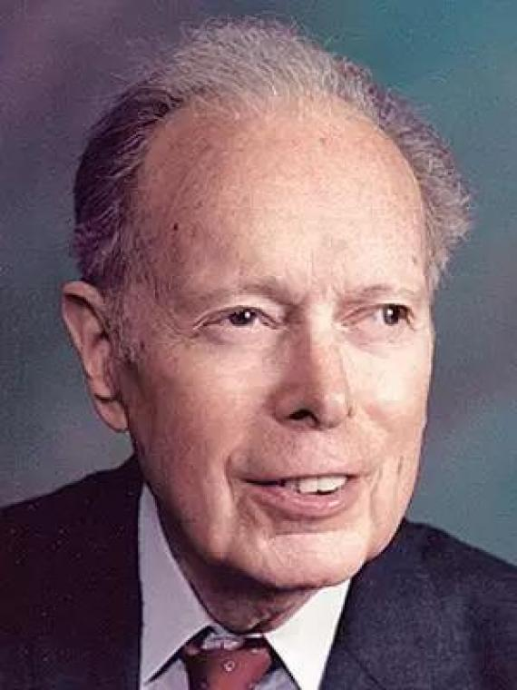 Denham Harman,(圖片來源:https://www.newswise.com/articles/dr-denham-harman-legendary-scientist-dies-at-age-98)
