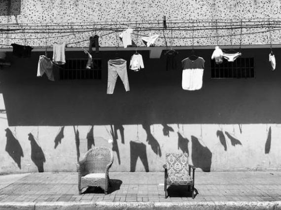 ▲ 生活方式類二等獎 Hanging to Dry,Lenny Yueng,iPhone 7