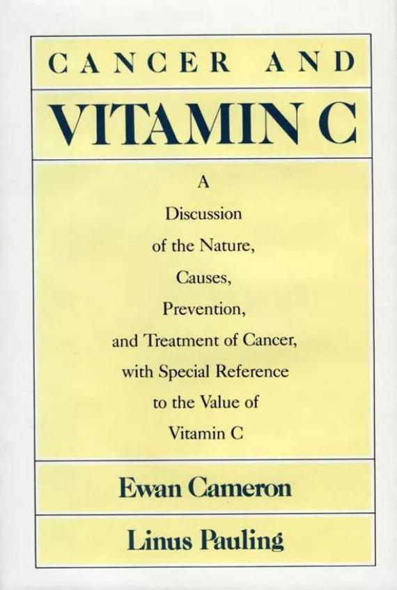 Pauling所著Cancer and Vitamin C