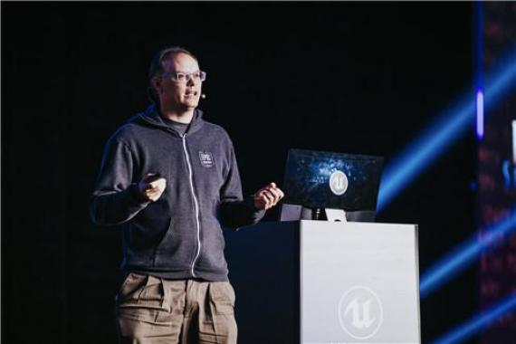 Epic Games創始人兼CEO Tim Sweeney 帶來《State of Unreal》演講