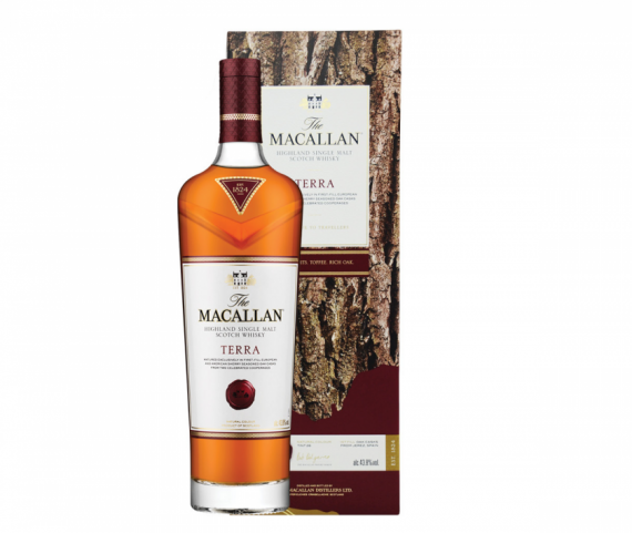 The Macallan Terra Single Malt Scotch Whisky 原價:HK$1345 優惠價:HK$1237.4