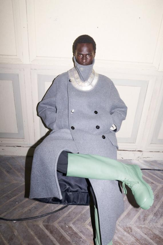 PHOTO/ JIL SANDER Look 1