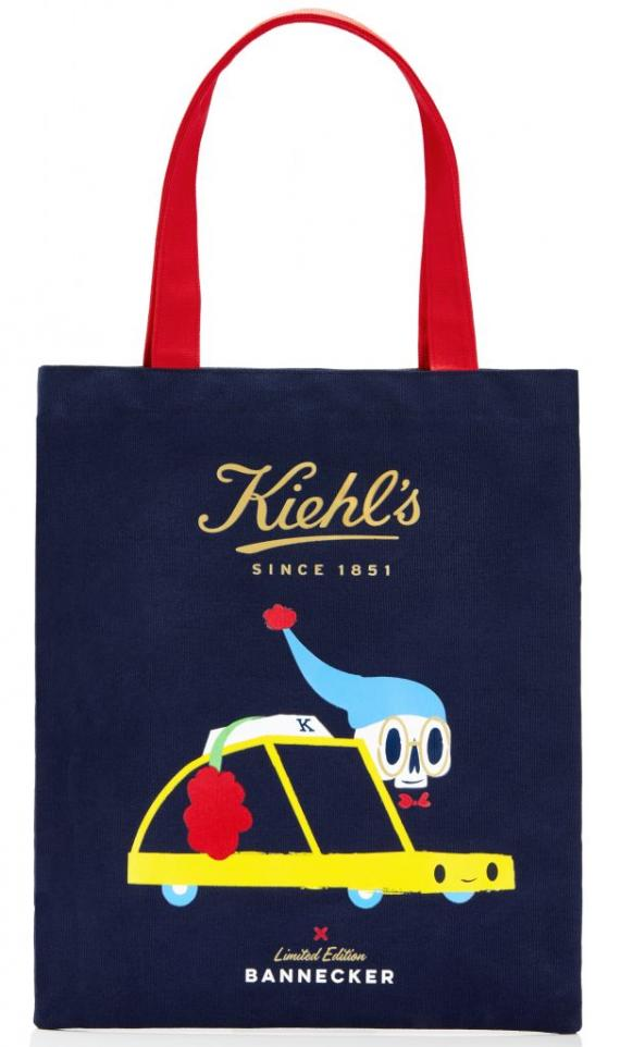 Kiehl's x Andrew Bannecker Tote Bag-min