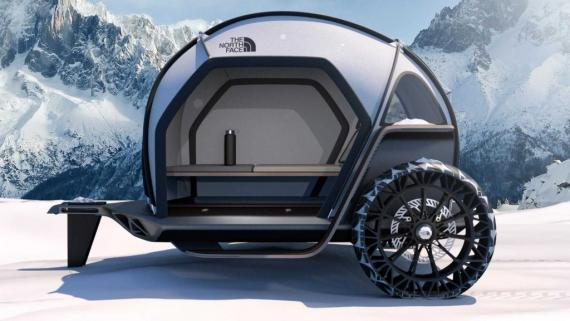 The North Face x BMW_Futurelight camper concept_3