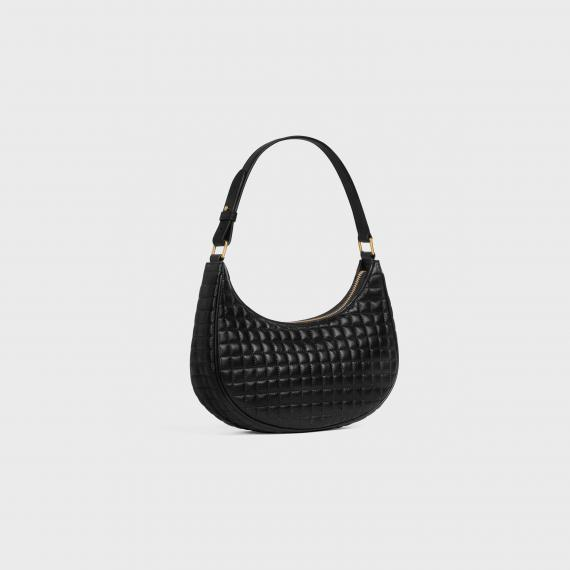 Ava Bag in Quilted lambskin - Black - 193953DH7.38NO | CELINE
